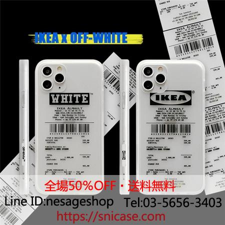 OFF WHITE x IKEA   英字プリント側面ロゴつや消しケース