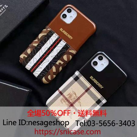 Burberry iphone11 pro maxケース ビジネス風