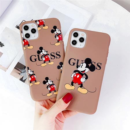IPHONE12ケース GUESS カップル