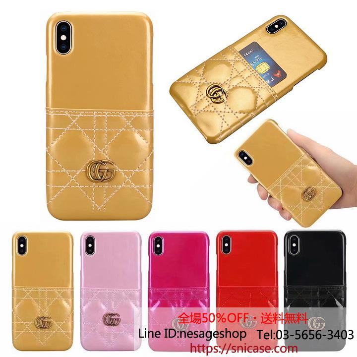 iPhoneXS Max カード入れケース グッチ