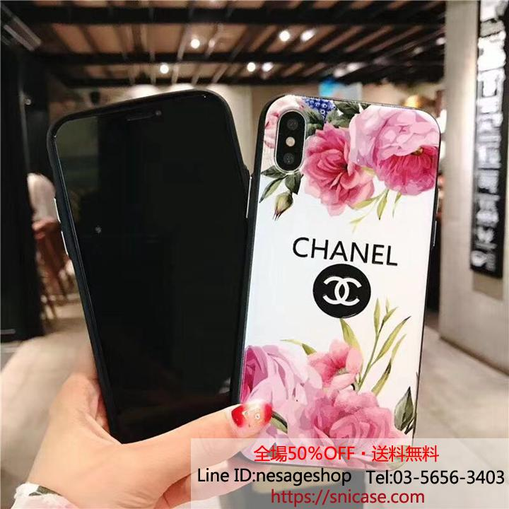 CHANEL iPhone8PLUSケース お洒落