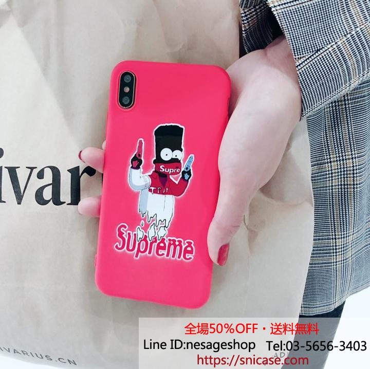 Supreme アイフォンxs xrケース シンプソン