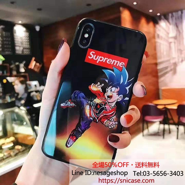 シュプリーム iPhone11/11 proケース ガラス背面