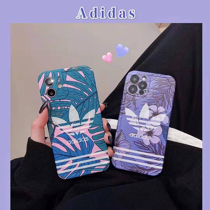 iphoneXR カバー ブランド風 adidas